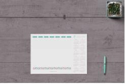 Projekt reklamowych podkładek na biurko i ich zalety