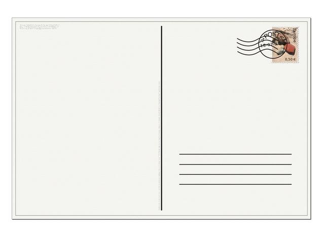 Pocztówka reklamowa